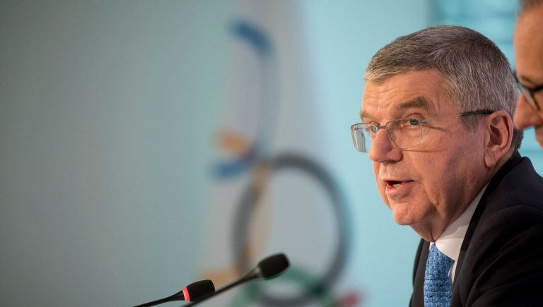 """IOC President: """"The Olympic Flame Can Become The Light At The Ened Of This Dark Tunnel"""""""