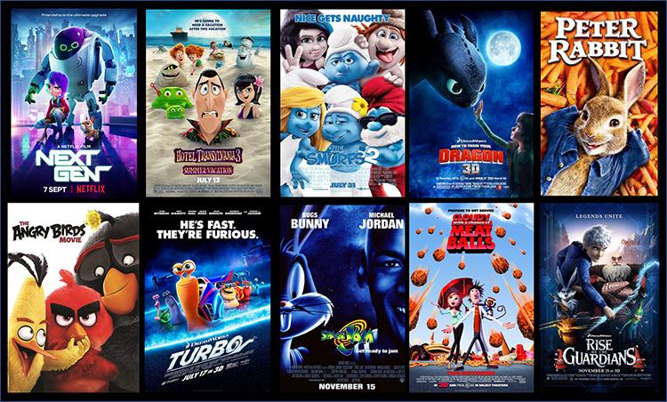 10 must Watch animation movies at Netflix.